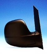 Mercedes Vito Van [03-09] Complete Manual Adjust Mirror Unit - Black